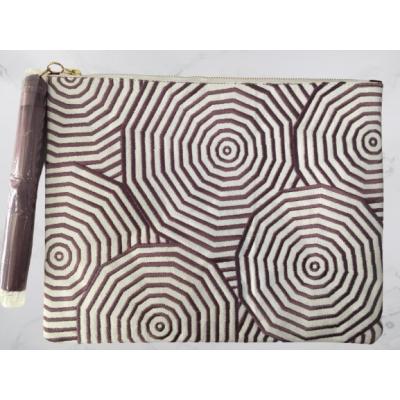 Purple Web Clutch Bag
